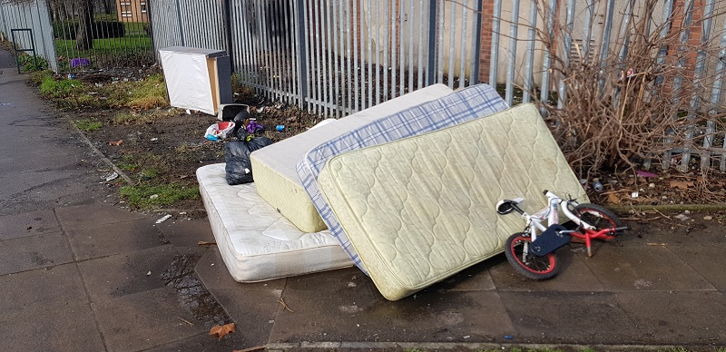 Fly-tipping- An on going concern in the area