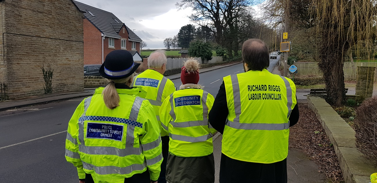 Tackling speeding on Green Road, Dodworth, Barnsley