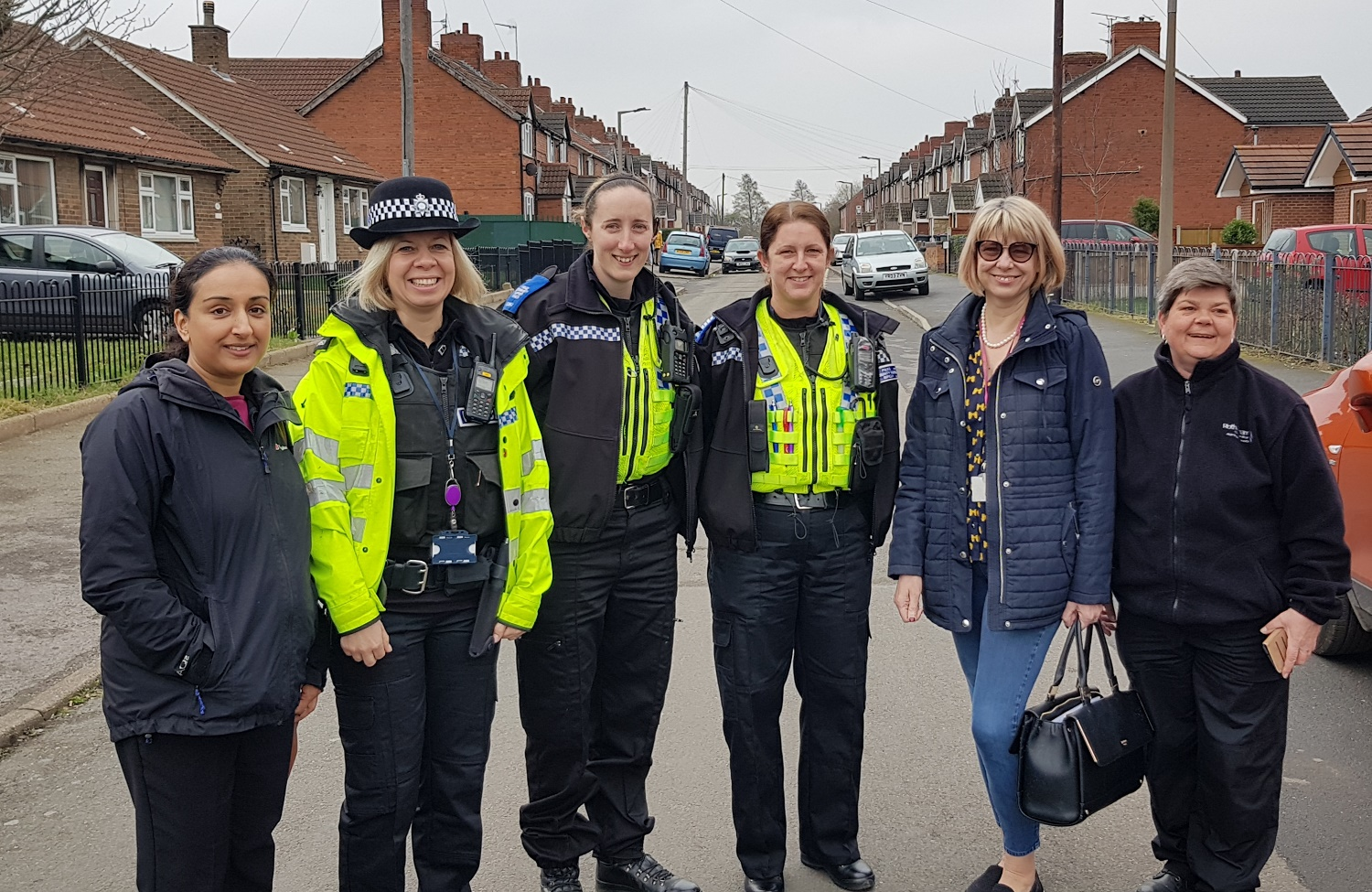 Rotherham South Neighbourhood Team with RMBC colleagues